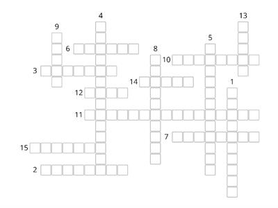 Essentials of College Writing Crossword