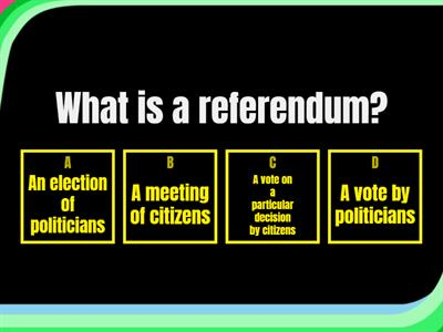 EU referendum quiz - what happened?
