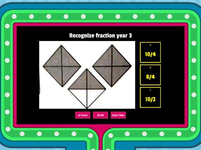 Recognize fraction year 3