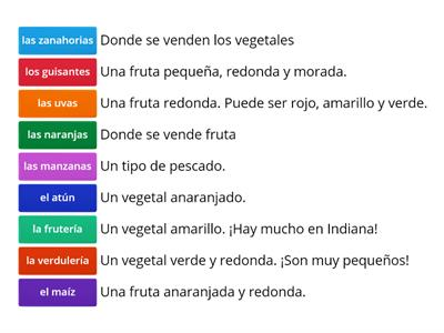 Asi se dice chapter 9 vocab 2