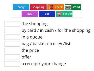 English A2 unit 2 shopping expressions