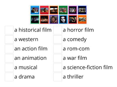 Kinds of film
