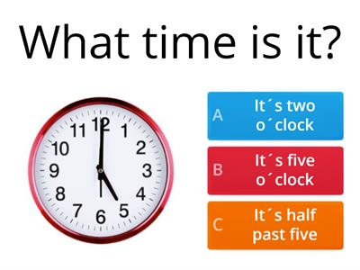 What time is it (2)?
