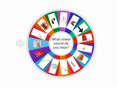 SHORT VOWEL WHEEL