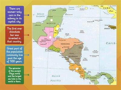 Central America, interesting facts
