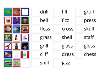 FLOSS Word Picture Match