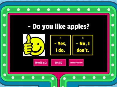 Do you like apples?
