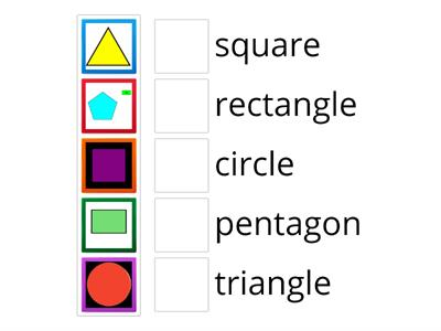 TLC: Can I match 2D shapes to the name?