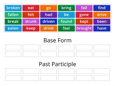Past Participle