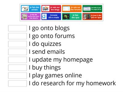 Y8 online activities Match up