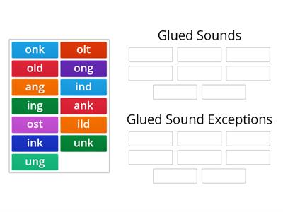 Glued Sound Exceptions Sort