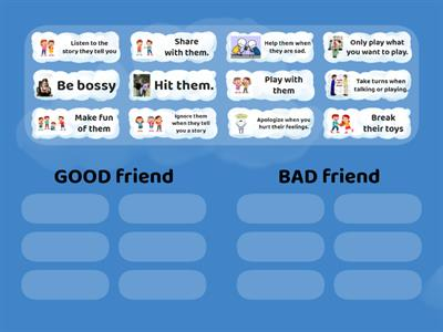 How to be a Good/Bad Friend SORT