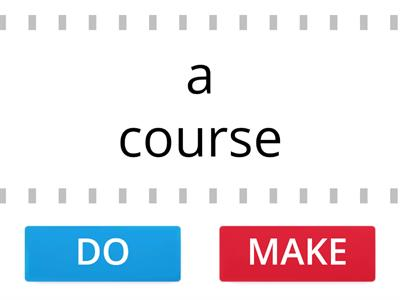 Make or do? English File 3rd edition Pre-Intermediate