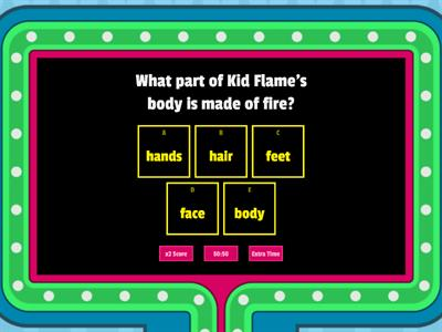 Kid Flame Reading Comprehension