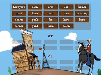 Ar Or Word Sort