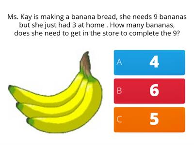 Word Problems 1st grade