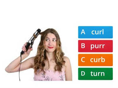 ur quiz- Pick the correct 'ur' word to match the picture