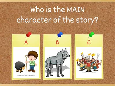 Let's Read - The Boy Who Cried Wolf - Activity 2