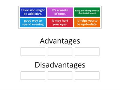Advantages & disadvatages of watching TV