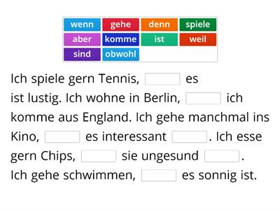Word Order German