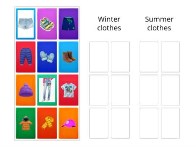 Clothes - Winter and Summer