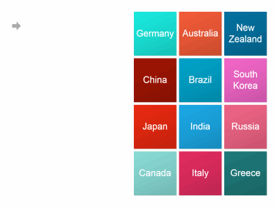 12 flags of the world