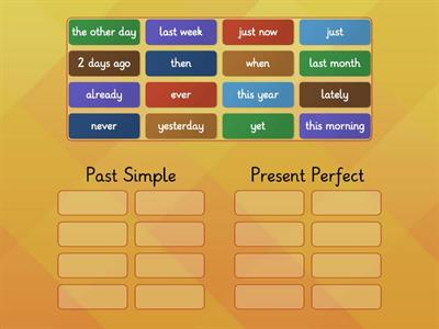 Past Simple or Past Perfect markers
