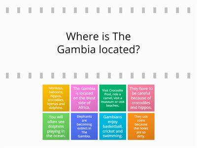 Questions about The Gambia