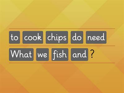 Quiz about Food. Phrases