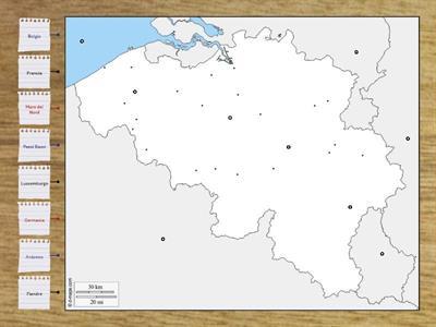 Cartina Fisica Belgio.Secondaria Primo Grado Geografia Francia E Belgio Risorse Per L Insegnamento
