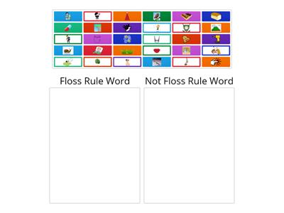 Floss Rule Picture Sort