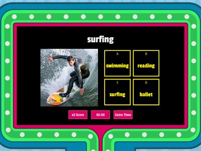 I like surfing