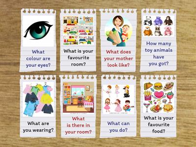 Warm Up Questions KS1