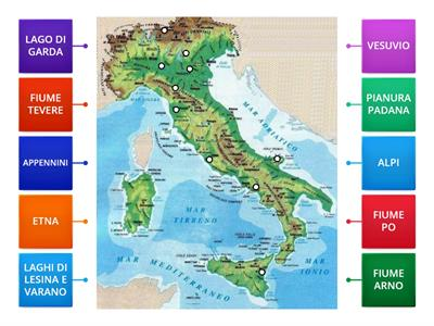 Lago Di Garda Cartina Fisica.Fisica Carta Italia Laghi Risorse Per L Insegnamento