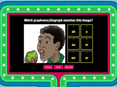 Grapheme Quiz