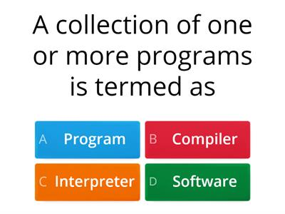 Types of software QUIZ!!