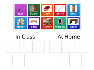 At Home or In Class