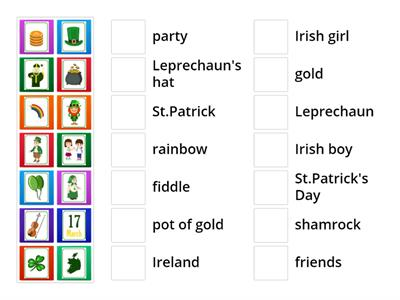 St.Patrick`s Day -  young learners