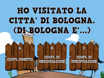 Analisi logica nel Far West! - Maestra Giulia