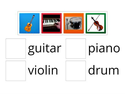 Musical Instruments part 1