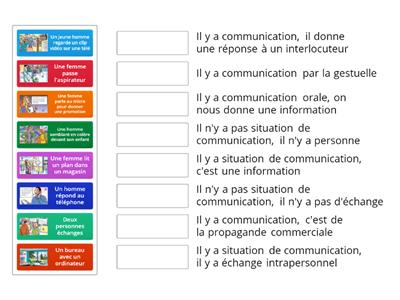 Y-a-t-il situation de communication?