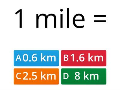 Imperial Units of Length