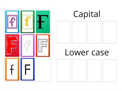 Capital vs Lowercase