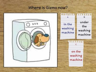 Where is Gizmo? NBB3