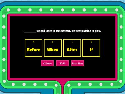 Subordinating conjunctions - Teaching resources
