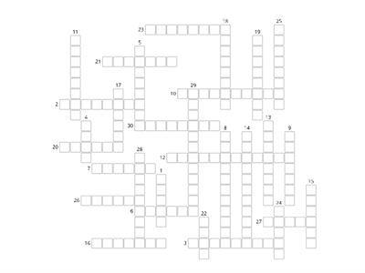 AQA Law Paper 1: AR/causation crossword