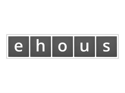 Vocabulary : The Old House