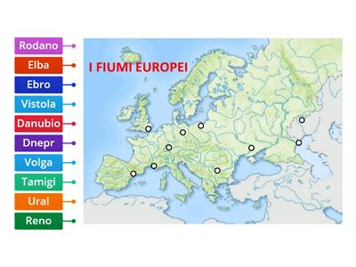 Cartina Muta Germania Con Fiumi.Fiumi Francia Risorse Per L Insegnamento