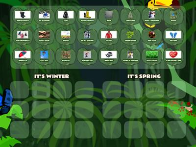 WINTER - SPRING SORTING