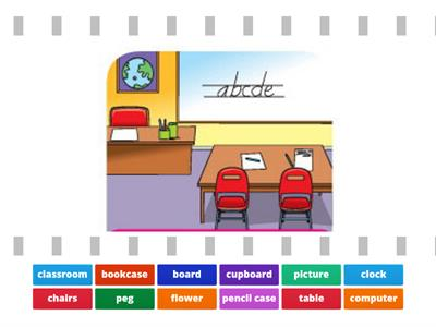 F&F 2 Unit 1 - classroom objects
